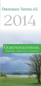 OSV Flyer zur Gemeinderatswahl